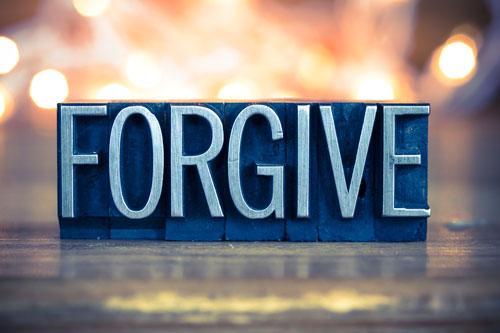 My step brother wont forgive ne