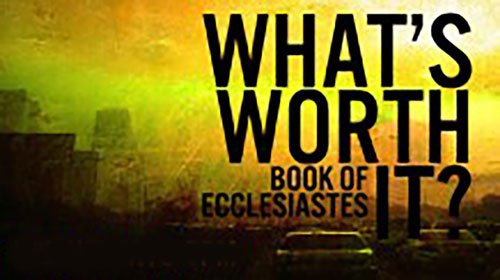 David Guzik on Ecclesiastes