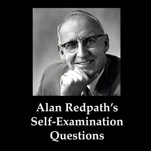 Redpath's Self-Examination Questions
