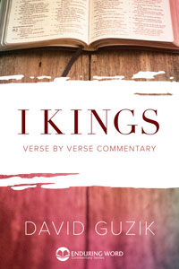 1 Kings Commentary in Print - David Guzik