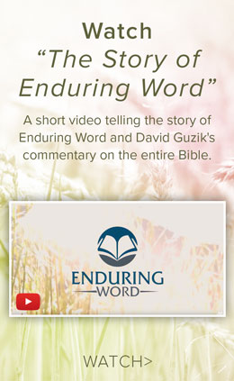Enduring Word Bible Commentary 2 Chronicles Chapter 1