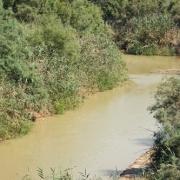 Muddy Jordan River