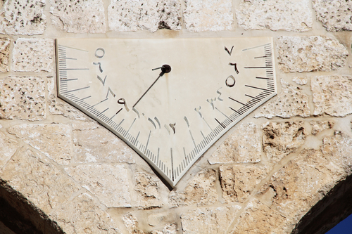 the wrong way sundial