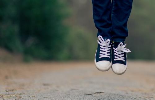 Walking, Leaping, Praising